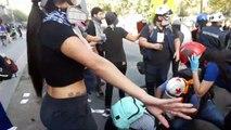 Manifestaciones en Chile 2019, dia 63 en el oasis, diciembre 20