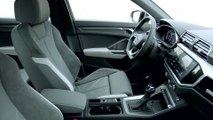 The new Audi Q3 Sportback Interior Design in Dew Silver