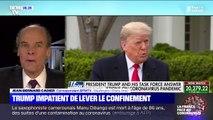 Aux États-Unis, Donald Trump espère pouvoir lever le confinement pour Pâques, soit le 12 avril