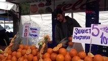 İzmir'de semt pazarlarına koronavirüs etkisi