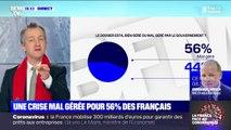 56% des Français estiment que la crise du coronavirus est mal gérée par le gouvernement, selon un sondage Elabe