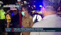 Polisi Dan Tni Tertibkan Warga Berkumpul