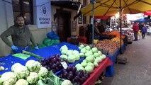 Bursa'nın tarihi pazarı bomboş kaldı