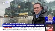 À New York, ce centre d'expositions est transformé en hôpital d'urgence