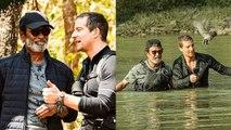 Into The Wild With Bear Grylls and Rajinikanth | Rajinikanth TV debut show
