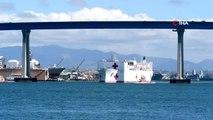 - Trump, USNS Mercy yüzen hastane gemisini Kaliforniya'ya gönderdi