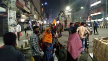 Bangladeş'te toplu taşıma yasağı öncesi hareketlilik