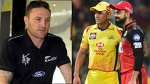 IPL 2020:Brendon McCullum Points Out Biggest Difference Between CSK & RCB