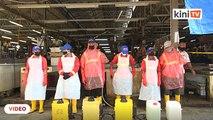 Pasar awam KL ditutup untuk Ops Bersih dan Diinfeksi Wabak Covid-19