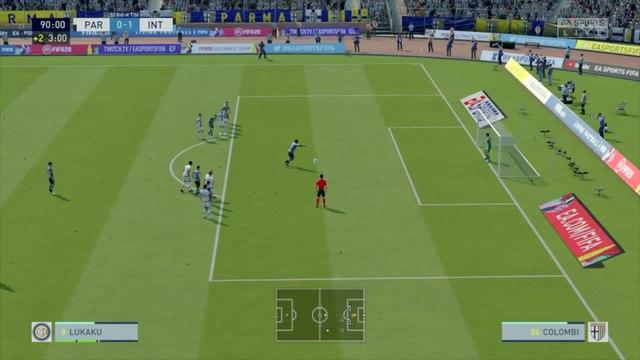 Parme AC - Inter Milan : notre simulation FIFA 20 (Serie A - 28e journée)