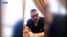 """ممثل سوري يسخر من حملة """"خليك بالبيت"""" التي أطلقها نظام أسد في مواجهة كورونا"""
