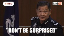 Don't be surprised if handcuffs used on those who fail to comply with MCO, says IGP