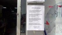 Hatay'da marketlerde koronavirüs önlemi