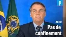 Coronavirus : pour Bolsonaro « notre vie doit continuer »