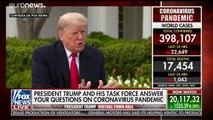 Trump quiere que los negocios vuelvan a abrir antes de Pascua pese al coronavirus