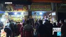 Coronavirus - Covid-19 : Ruée dans les magasins en Inde avant le début d'un confinement de 3 semaines