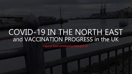Covid-19 in the North East  - and UK vaccination total: the February 18 figures