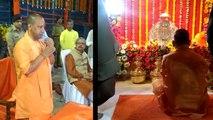 लॉकडाउन की पीएम मोदी के अपील के बाद अयोध्या पहुंचे सीएम योगी,अस्थायी मंदिर में रामलला को किया शिफ्ट