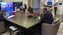 Cumhurbaşkanı Erdoğan, Bakanlar ile Telekonferans Görüşmesi Gerçekleştirdi
