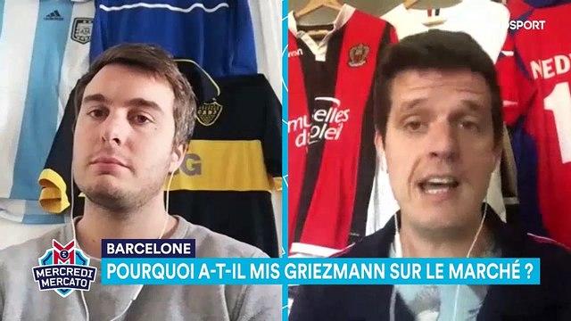 Comment le Barça à du se résoudre à mettre Griezmann sur le marché