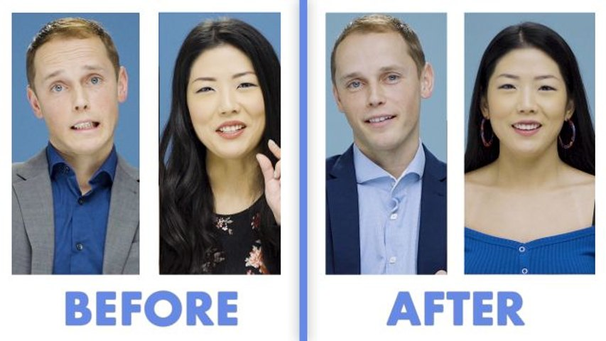 Interviewed Before and After Our First Date - Leonty & Ash
