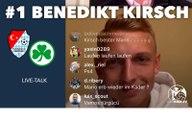 Frisurtipps für Arturo Vidal und Spiele gegen den VfB Stuttgart: Benedikt Kirsch von Türkgücü München im Verhör