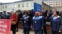 Londres : pandémie et conflit social, des personnels de ménage non-payés