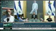 El Salvador construirá hospital para atender emergencia por COVID-19
