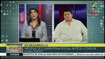 Epidemiólogo Carlos Pantoja analiza medidas adoptadas frente COVID-19