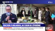 Story 3 : Emmanuel Macron à Mulhouse au cœur de l'épidémie de coronavirus - 25/03