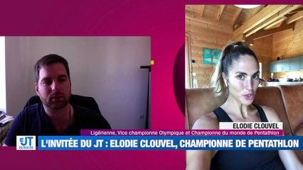 Invité du mercredi 25 mars 2020 - Elodie Clouvel, championne du monde de pentathlon