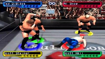 WWF Smackdown! 2 - Ted DiBiase season #9