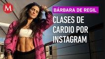 Bárbara de Regil da clases de cardio por Instagram para que te quedes en casa