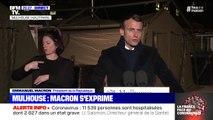 """Emmanuel Macron appelle à """"être unis pour combattre le virus"""""""