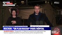 """Emmanuel Macron: """"Dans cette guerre, nous devons faire bloc"""""""