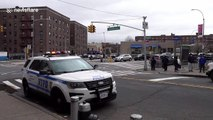 NYPD announce reminders for social distancing amid coronavirus lockdown