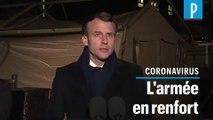 """Coronavirus : Macron lance l'opération militaire """"Résilience"""""""