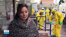 Coronavirus : à Cannes, la désinfection des rues a commencé