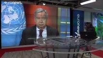 2 Mrd. Dollar: Guterres erklärt auf euronews UN-Covid-19-Plan