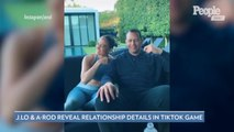 Jennifer Lopez and Alex Rodriguez Disagree Over Who Is the Most Romantic in TikTok Couples Game