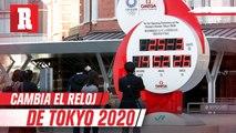 Reloj de cuenta regresiva para Tokio 2020 ahora marca la hora