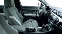 The new Audi Q3 Sportback Interior Design in Dew Silver