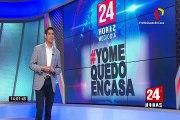 Magdalena: ciudadanos extranjeros pasan la cuarentena en un camión de mudanza