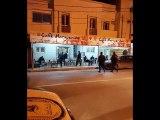 Coronavirud Covid-19  Tunisie    تدخل الشرطة بالمقاهي والمحلات التجارية االيلة ...