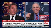 The pandemic is 'accelerating' and we don't know what's going on in much of the country: Dr. Fauci