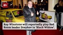 Ray Winstone's Black Widow Role