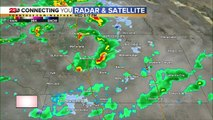 Showers continue overnight, mountain snow likely