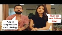 Virat Kohli And Anushka Sharma PLEAD Citizens, Gives Away Safety Tips And Measures
