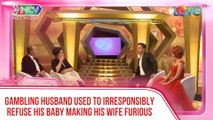 GAMBLING HUSBAND USED TO IRRESPONSIBLY REFUSE HIS BABY MAKING HIS WIFE FURIOUS