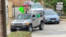 Teachers surprise quarantined kids with a drive-by parade